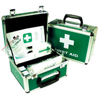 Aluminium HSE First Aid Kits