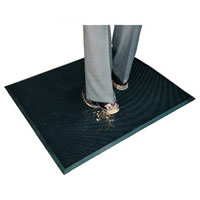 Rubber Bristle Mats