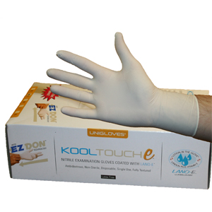 Kooltouch Lano-E Nitrile Gloves