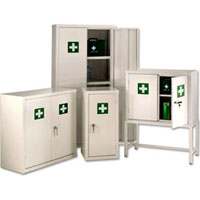 First Aid Storage Cupboards