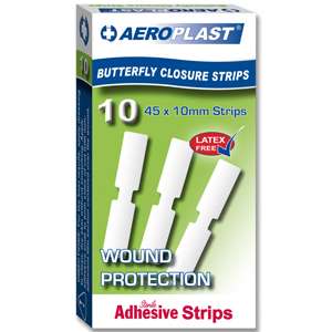 Aeroplast Butterfly Closure Strips