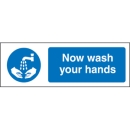 Wash Your Hands Signage