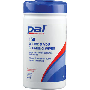 PAL Telephone/Computer Sanitising Wipes