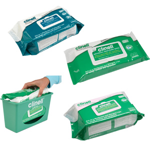 Clinell Sanitising Wipes