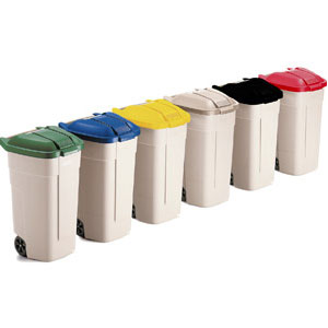 Colour Coded Waste Containers
