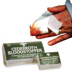 Cederroth Bloodstopper Dressings