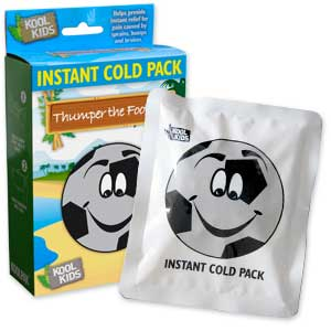 Thumper The Football Instant Ice Packs