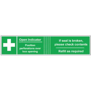 First Aid Box Seals