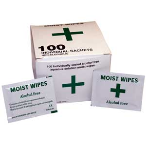 Alcohol Free Wipes