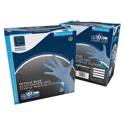 Sterile Powder Free Nitrile Gloves