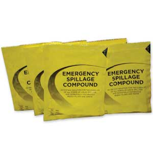 Emergency Clean Up Sachets