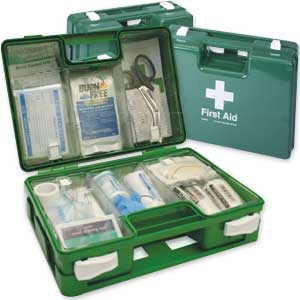 BS-8599-1 Compliant First Aid Kits In Deluxe Cases