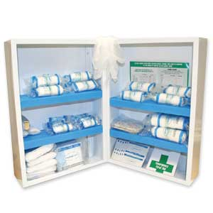 Double Depth First Aid Cabinets
